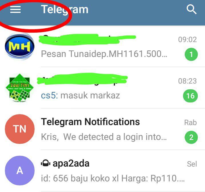 Cara Mengambil Akun Telegram Yang Di Hack Orang